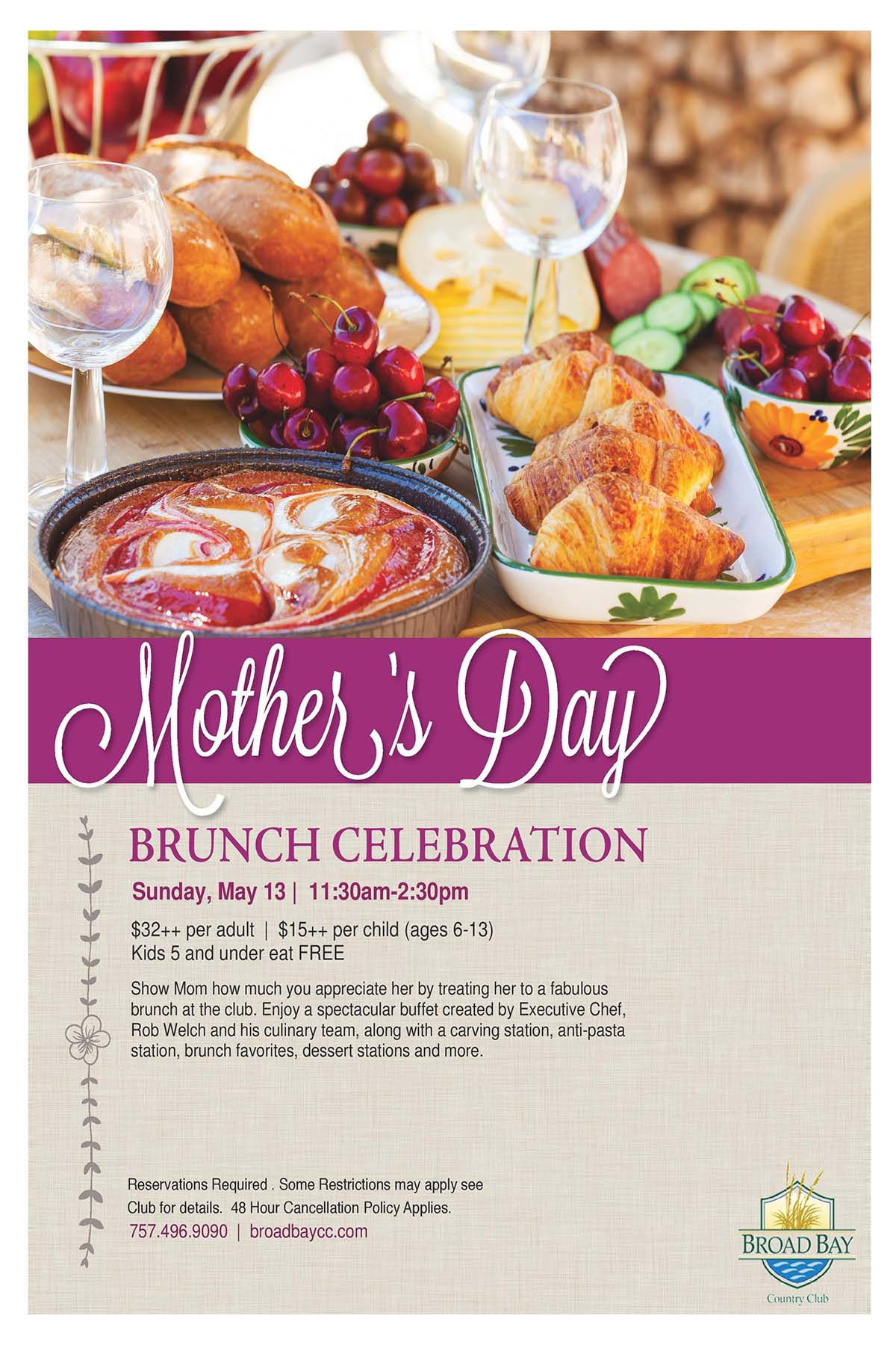Mother S Day Brunch Broad Bay Country Club 2018 05 13